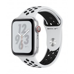 Apple Watch Nike+ Series 4 GPS + Cellular, 40mm Aluminum White Sport Band