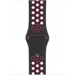 Apple 40mm Nike Sport Band (MWU72) - Black/Pink