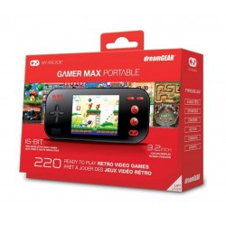 My Arcade Gamer Max Portable Gaming System - Black