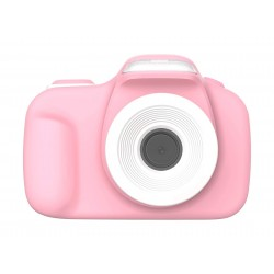 myFirst Camera 3 - 16MP Mini Camera with Extra Selfie Lens - Pink