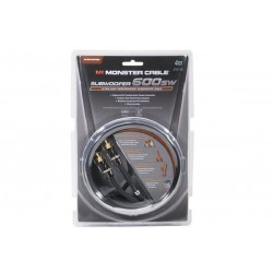 Monster Cable 127622 Subwoofer 600sw Ultra High Performance 2.4 meters