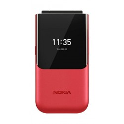 Nokia 2720 Flip 4GB Phone - Red