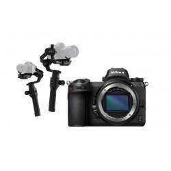 Nikon Z 6 Mirrorless Digital Camera (Body Only) + Dji Ronin-S- 3-Axis Stablizer For DSLR