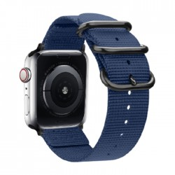 EQ Apple Watch Band Size 38/40MM (OCT 1031) -  Navy Blue