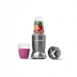Nutribullet Blender 6 Pieces Set - 600W (NBR-0612) - Gray