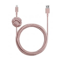 Native Union Lightning to USB Cable 3M - Rose