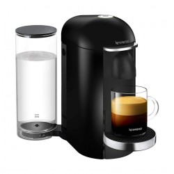 Nespresso VertuoPlus Deluxe Coffee and Espresso Machine - Black