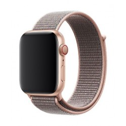 Apple 44mm Smart Watch Sport Loop - Pink Sand 2