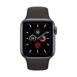 Apple Watch Series 5 GPS 44mm Grey Aluminium Case with Black Sport Band 2