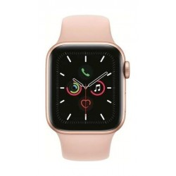 Apple Watch Series 5 GPS+Cellular 40mm Gold Aluminum Case with Pink Band 2