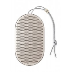 B&O PLAY by Bang & Olufsen Beoplay P2 Portable Bluetooth Speaker with Built-In Microphone - Black