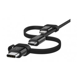 Belkin Universal Cable with Micro-USB, USB-C and Lightning Connectors - 5