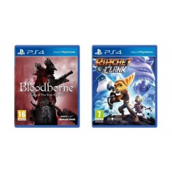 Bloodborne Game of The Year Edition + Ratchet & Clank – PS4 Game