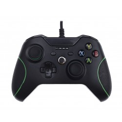 EQ Dobe Wired Xbox One Controller - Black