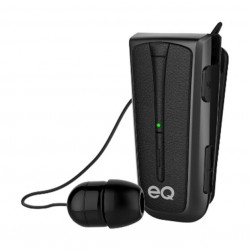 EQ H109 Clip Wireless Eaphones - Black 1