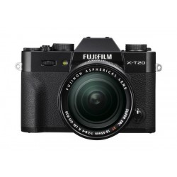 Fujifilm X-T20 Mirrorless Digital Camera + XF 18-55mm Lens - Black
