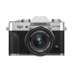 Fujifilm X-T30 Mirrorless Camera + 15-45mm Lens - Silver 9