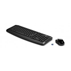 HP Wireless Keyboard and Mouse 300 - Black