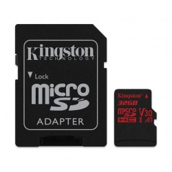 Kingston Canvas React Class 10 UHS-I U3 MicroSD Card - 32GB