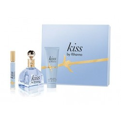 Riri Kiss Gift Set by Rihanna 100ml For Women Eau de Parfum