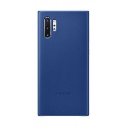 Samsung Note 10+ Leather Cover - Blue