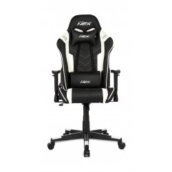 DXRacer NEX Gaming Chair - Black/White