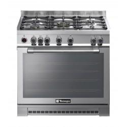 Tecnogas 90x60 cm 5-Burners Free Standing Gas Cooker (NG1X96G5VC)