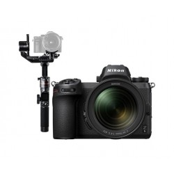 Nikon Z 6 Mirrorless Digital Camera With 24-70mm Lens + FeiyuTech AK2000 Wi-Fi Gimbal Stabilizer
