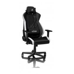 Nitro S300EX Gaming Chair - Radiant White