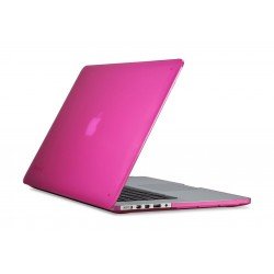Speck 15-Inch See-Thru Hard-Shell Case For Laptop MacBook Pro Retina (71636-B198) – Pink