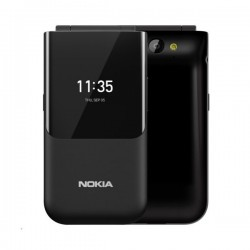 Nokia 2720 Flip 4GB Phone - Black