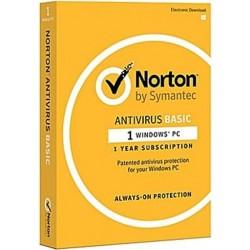Symantic Norton Anti-Virus Basic 1.0 Arabic (21369458) - 1 User  1 Device 1 Year