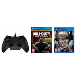 Razer Raiju Gaming Controller For PS4/PC + Call of Duty Black Ops III Gold Edition + Call of Duty WWII