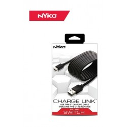 Nyko Charge Link USB Type-C Charging Cable for Nintendo Switch