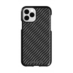 Ocean75 Wave iPhone 11 Back Case - Deep Black
