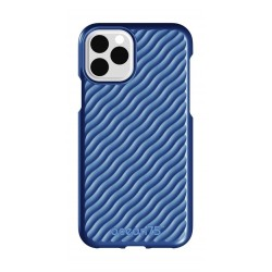 Ocean75 Wave iPhone 11 Pro Max Back Case - Ocean Blue