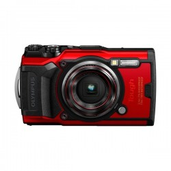 Olympus Tough TG-6 12MP Digital Camera - Red