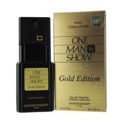 One Man Show Gold Edition by Jacques Bogart for Men 100 ml Eau De Toilette