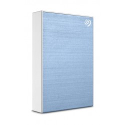 Seagate One Touch 4TB USB 3.2 Gen 1 External Hard Drive - Blue