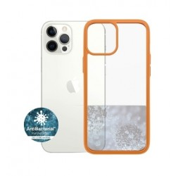 Panzer iPhone 12-12 Pro Anti-Bacterial Case - Orange