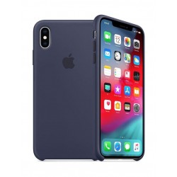 Apple iPhone XS Silicone Case - Midnight Blue