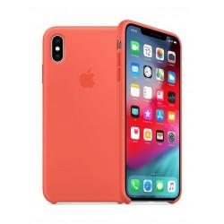 Apple iPhone XS Silicone Case - Nectarine 3