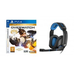 Sennheiser GSP 300 Wired Gaming Headset + Overwatch Game of the Year Edition: PlayStation 4 Game