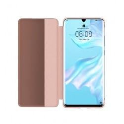 Huawei P30 Smart View Flip Wallet Cover (51992862) - Pink
