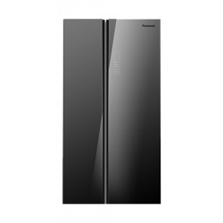 Panasonic 25CFT Side by Side Refrigerator (NR-BS701GKAS) - Grey