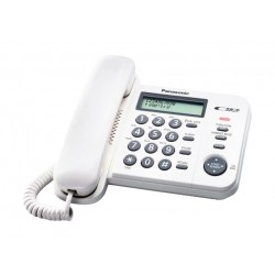 Panasonic Corded Telephone (KX-TS560FXW)-White