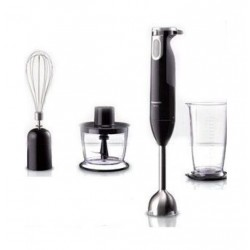 Panasonic Hand Blender with Chopper and Whisk - 600 W (MX-SS1BTZ)