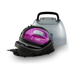 Panasonic Digital Control 1550W Cordless Steam Iron - Violet
