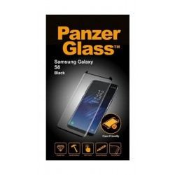 Panzer Glass Screen Protector For Galaxy S8 (7122) - Black