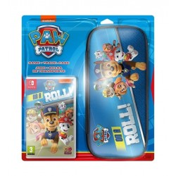 Paw Patrol: On A Roll Nintendo Switch Game + Travel Casew